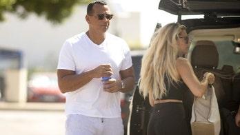 Alex Rodriguez spotted getting off private jet with friend Melanie Collins amid lavish birthday celebration