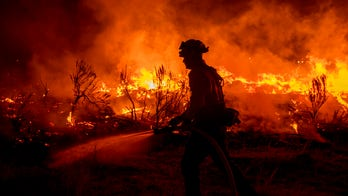 Nation's largest wildfire shifts toward California community due to gusty winds