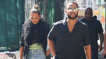 Chrissy Teigen and John Legend step out for lunch in New York City after selling Beverly Hills home