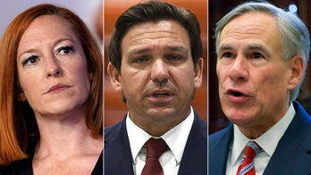 Psaki continues beef with DeSantis, GOP governors, says 'get out of the way' of mask mandates