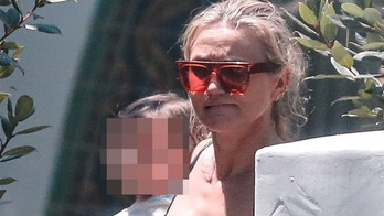 Cameron Diaz, 48, makes rare appearance taking daughter Raddix to swim class in Beverly Hills