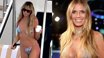 Heidi Klum shows off her backside in cheeky Instagram post: 'What a view'