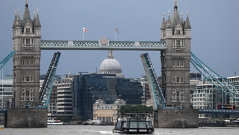 London's Tower Bridge stuck open due to a technical fault