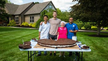 Grandma and grandson say they made the world's biggest Oreo: 'It was a blast'