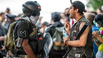 Portland police don't intervene as Antifa, Proud Boys battle in streets