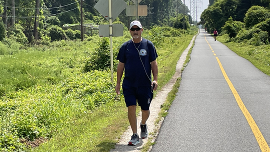 Brother of FDNY firefighter who died 9/11 walks more than 500 miles in his honor