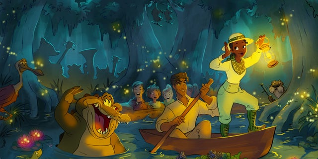 Disney has revealed more details about the new attraction themed to the 2009 film The Princess and the Frog.