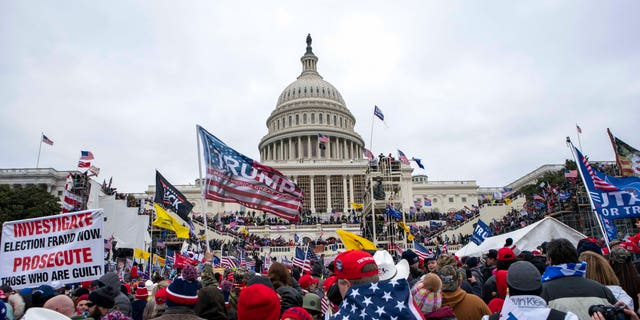 Rioters storm the U.S. Capitol on Jan. 6, 2021.