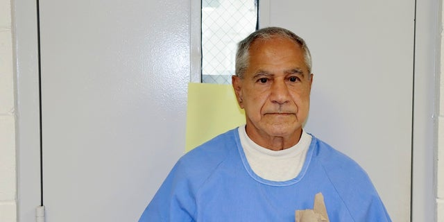 Sirhan Sirhan arrives for a parole hearing on Friday in San Diego. (California Department of Corrections and Rehabilitation via AP)