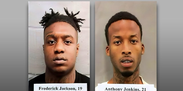 Anthony Jenkins, 21, and Frederick Jackson, 19, are charged with the murder of a New Orleans police detective.