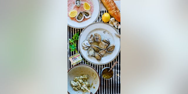 """Kate Ramos, the creator of the food blog ¡Hola! Jalapeño, shared her """"BBQ Oysters with Green Chile Garlic Butter"""" recipe with Fox News."""