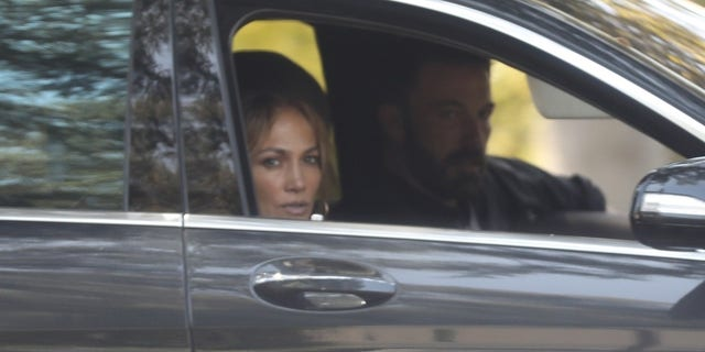Jennifer Lopez and Ben Affleck are spotted touring a colossal estate on Tuesday in the famed Beverly Hills neighborhood of Los Angeles. The property carries an asking price of $85 million.