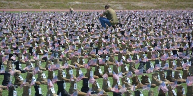 Fort Bragg's annual Run, Honor, Remember 5K Memorial will include a field filled with military boots to honor the men and women killed in the line of duty.?