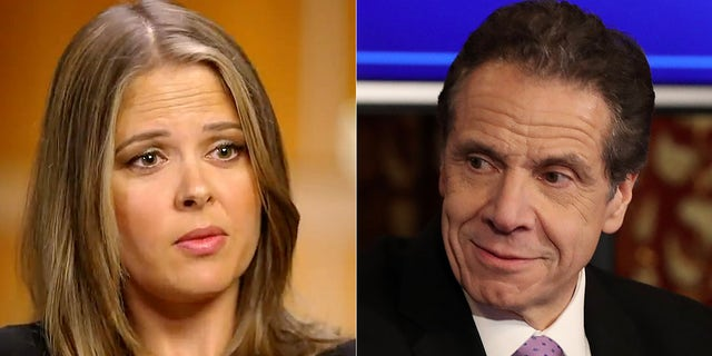 """Brittany Commisso is one of 11 women referenced in a scathing report from New York State Attorney General Letitia James that alleged Cuomo sexually harassed multiple women and violated state and federal law. Cuomo has denied any wrongdoing. Until now, Commisso had remained anonymous, referred to only as """"Executive Assistant #1"""" in the report."""