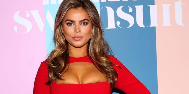 Brooks Nader attends the Sports Illustrated Swimsuit celebration of the launch of the 2021 Issue on July 24, 2021 a Hollywood, Florida.