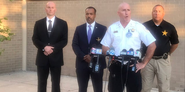 Chicago Police Chief of Patrol Brian McDermott talks of the shooting Sunday that left a 7-year-old girl dead (Chicago Police)