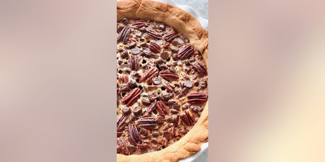 """Ahead of National Chocolate Pecan Pie Day, Debi Morgan, the creator of Southern food blog Quiche My Grits shared her """"Chocolate Chip Pecan Pie"""" recipe with FOX News."""