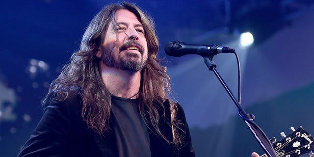 """Dave Grohl of the Foo Fighters performs onstage at the 2018 Children's Hospital Los Angeles """"From Paris With Love"""" Gala at LA Live on October 20, 2018 in Los Angeles, California."""