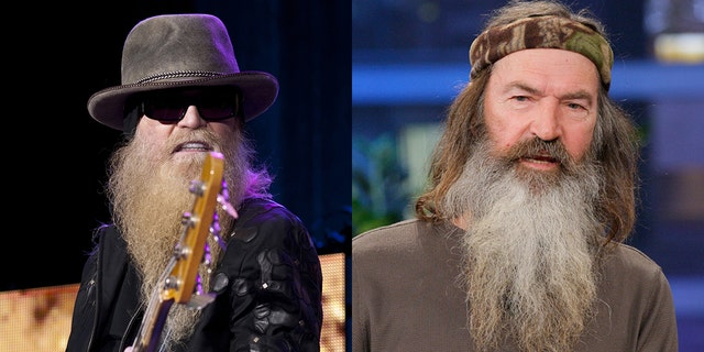 'Duck Dynasty' star Phil Robertson reflected on speaking at ZZ Top bassist Dusty Hill's funeral.