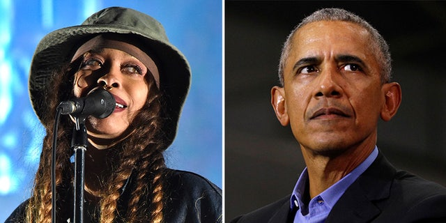 Erykah Badu's unauthorized social media posts showed the Obamas dancing mask-free among the hundreds of attendees.