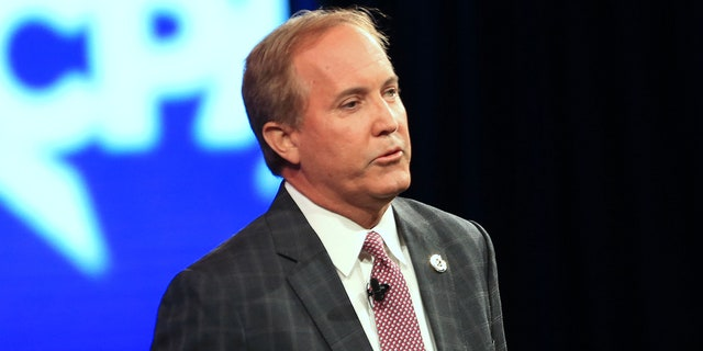 Texas Attorney General Ken Paxton (Photographer: Dylan Hollingsworth/Bloomberg via Getty Images)