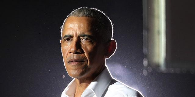 Former President Barack Obama speaks in Miami, Nov. 2, 2020. (Getty Images)