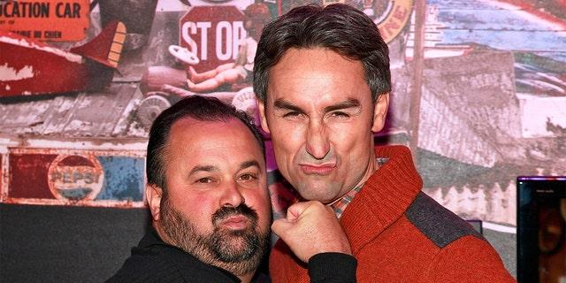 Фрэнк Фриц (слева) раскритиковал заявление бывшего парня Майка Вольфа в Instagram после выхода из популярного сериала History Channel.