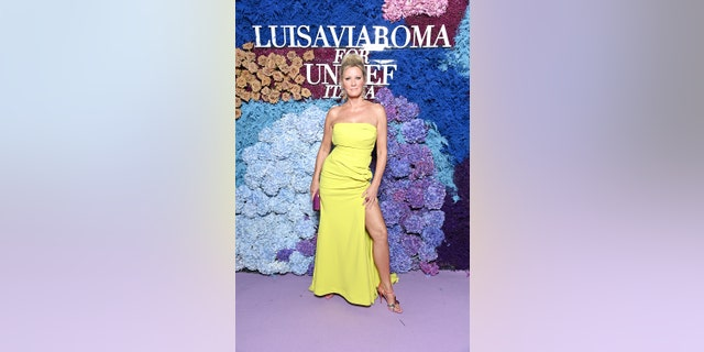 Sandra Lee attends the LuisaViaRoma for UNICEF vent at La Certosa di San Giacomo on July 31, 2021 in Capri, Italy.
