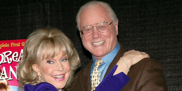 Barbara Eden and Larry Hagman remained friends over the years.