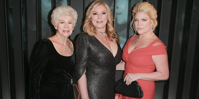 """From left to right, Arlane Hart, Debra Newell and Terra Newell attend the after- party for Bravo's anthology series """"Dirty John"""" world premiere at NeueHouse Los Angeles on Nov. 13, 2018, ハリウッドで, カリフォルニア."""