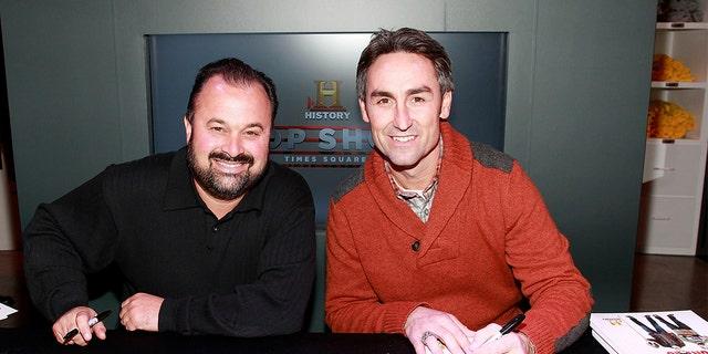 Фрэнк Фриц (слева) утверждал, что зрителям было легче узнать его в сериале.