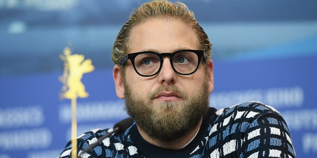 Jonah Hill attends the 'Mid90s' press conference during the 69th Berlinale International Film Festival Berlin at Grand Hyatt Hotel on February 10, 2019 in Berlin, Germany.