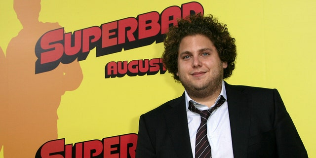 Actor Jonah Hill arrives at the premiere of Sony Pictures' 'Superbad' held at the Grauman's Chinese Theatre on August 13, 2007 in Hollywood, California.