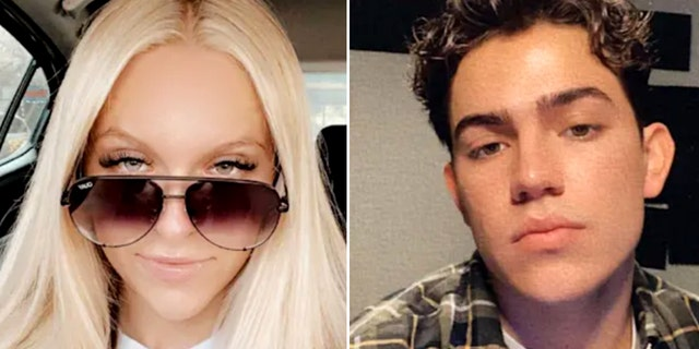 Rylee Goodrich, 18, and Anthony Barajas, 19, both died after being shot while inside a Southern California movie theater, authorities said.