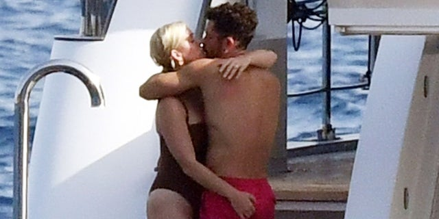 Katy Perry and Orlando Bloom couldn't keep their hands off each other during a luxury yacht day in Capri, Italy.
