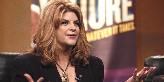 """Kirstie Alley of """"Fat Actress"""" during Showtime TCA Day at Universal Hilton in Los Angeles, California, stati Uniti."""