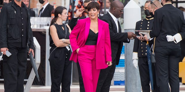 Kris Jenner in Venice.