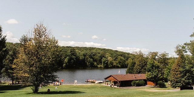 Lake Superior State Park in Bethel, Nueva York.