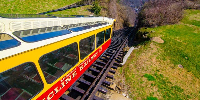 The Incline Railway, a sightseeing railroad system that dates back to 1895.