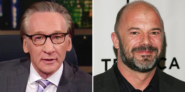 """""""Real time"""" Host Bill Mehr, left, and guest Andrew Sullivan agreed on Friday. """"Wake up"""" The impact of the mob on the nation's newsrooms (HBO / Getty Images)"""