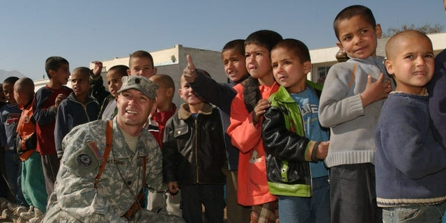 Doug Mastriano in an undated photo in Afghanistan