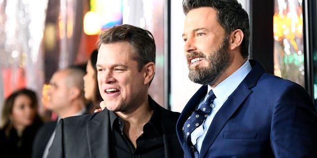 Actors Matt Damon and Ben Affleck are working together on a movie for the first time since 'Good Will Hunting' in 1997.