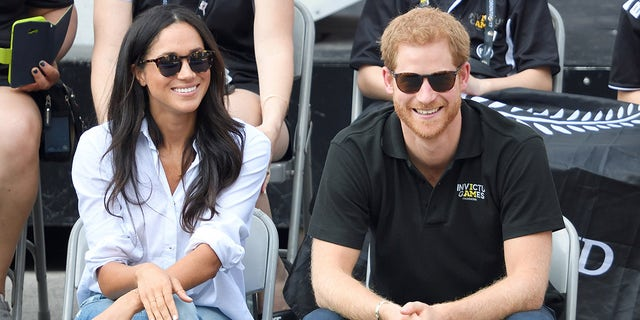 Markle and Harry made their first public appearance together in 2017 at the Invictus Games.