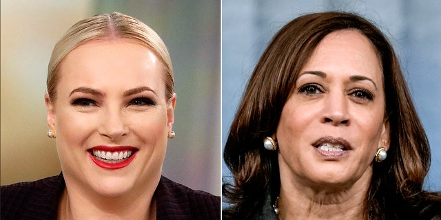 """Former """"View"""" co-host Meghan McCain scolded Vice President Kamala Harris Monday for laughing when asked about the ongoing crisis in Afghanistan. (Getty)"""