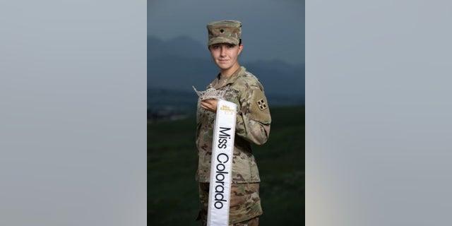 Army Spc. Maura Spence-Carroll.
