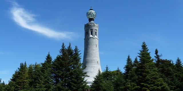Mt Greylock in Lanesborough, Massachusetts (Debbie Storie).