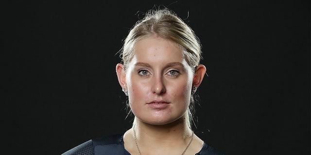 Olivia Podmore poses during the NZOC cycling Commonwealth Games headshots session on Oct. 18, 2017 in Cambridge, New Zealand. (Michael Bradley/Getty Images)