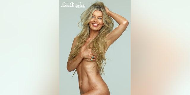 Paulina Porizkova posed nude for Los Angeles magazine.