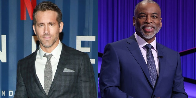 Ryan Reynolds showed his support for LeVar Burton to be the new host of 'Jeopardy!'