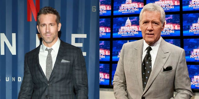 'Free Guy' star Ryan Reynolds revealed what the final phone call between him and Alex Trebek was about.